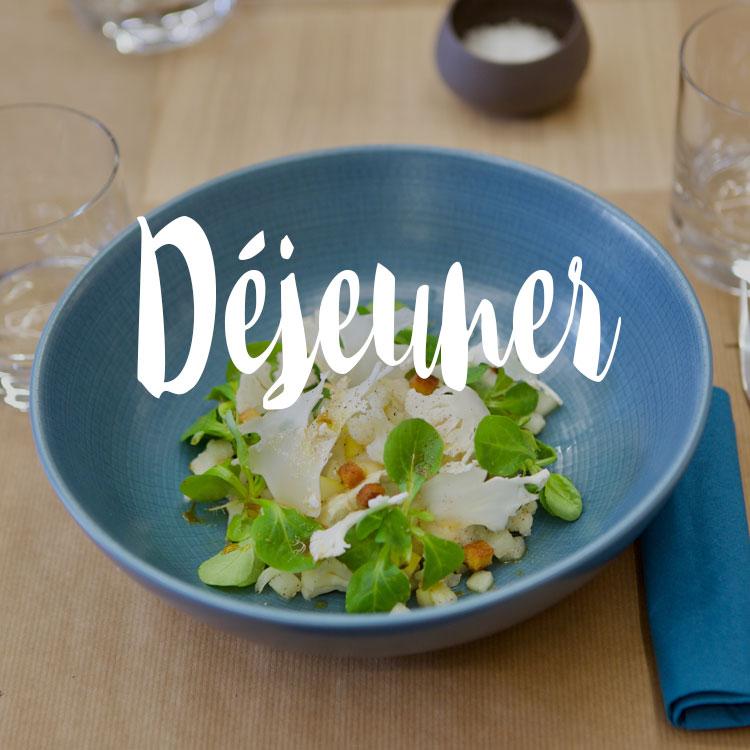 Déjeuner bien, bon et rapide à nantes