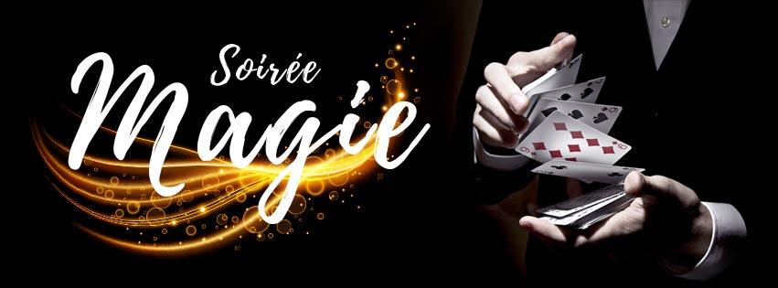 Dîner spectacle avec un magicien pour se mettre dans la magie des fêtes de fin d'année et de noël